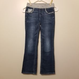 Justice jeans. Bootcut style. Size 10